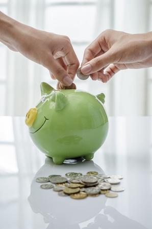 Piggy bank Фото со стока
