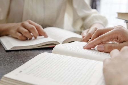 Lectura de la Biblia Foto de archivo - 22668263