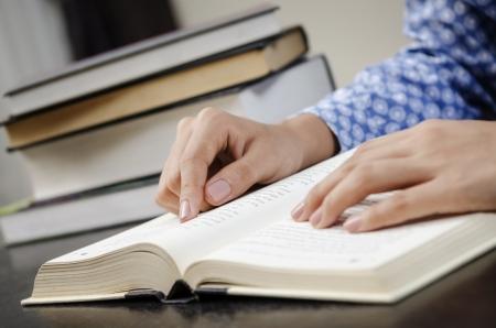 Lesen Lehrbuch Standard-Bild - 22668271