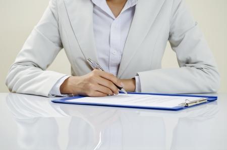 ビジネス ドキュメントを書き込む