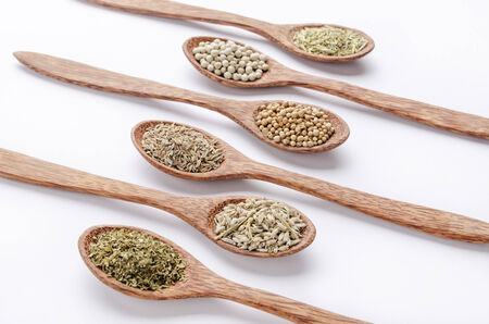 dill seed: parsley, coriander seed, dill seed, white pepper, dry lavender and rosemary