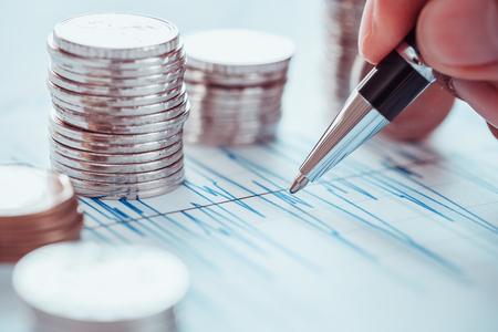 Concept de analyse analyse marché de données de marché Banque d'images - 80935907