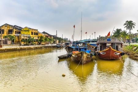 HDR landscape of Hoi An city, Vietnam.