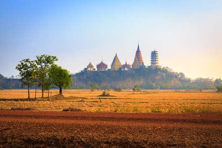 sua: Wat Tham Sua Thai temple in Kanchanaburi, Thailand