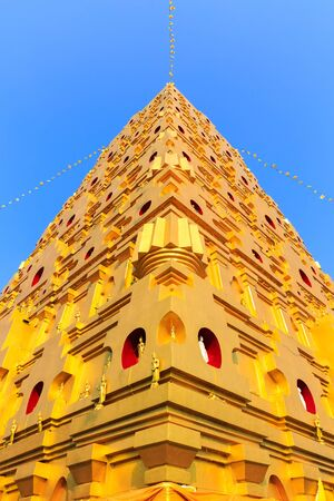 sangkhla buri: Bodhgaya stupa at Wat wangvivagegaram, Sangkhla Buri Kanchanaburi, Thailand