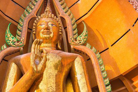 sua: Buddha statue in Wat Tham Sua, Kanchanaburi, Thailand