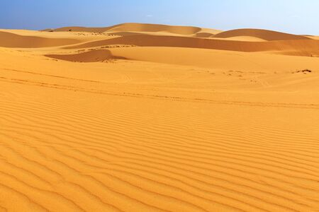 ne: White sand dune in Mui Ne Vietnam
