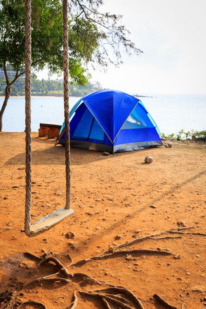 rayong: Tent on the beach in Khao Laem Ya Rayong Thailand