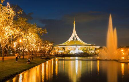 ix: Suan Luang RAMA IX public park Bangkok Thailand