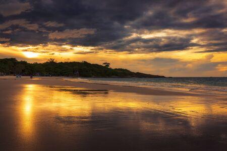 samet: Sai Kaew beach in sunrise time, koh samet island, Rayong, Thailand Stock Photo
