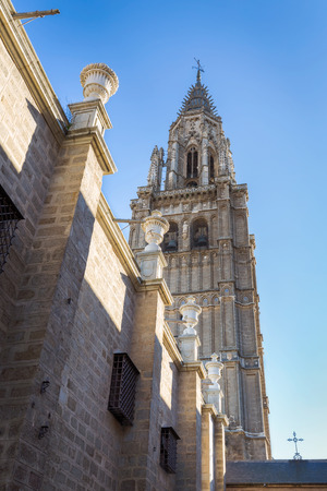 mancha: Cathedral of Toledo, Old town in Spain