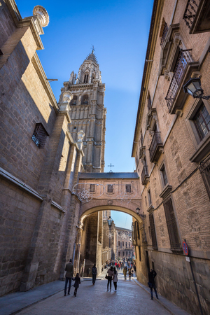 toledo: Cathedral of Toledo, Old town in Spain