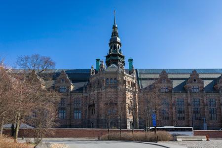 Nordic Museum at Djurgarden island in Stockholm, Sweden