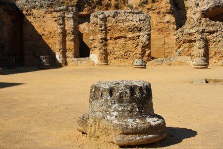 carmona: Roman Necropolis in Carmona near Seville Editorial