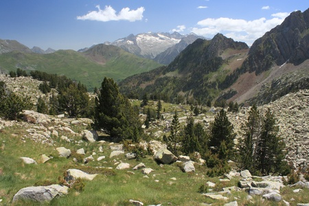 Estos Valley in Aragon Pyrenees