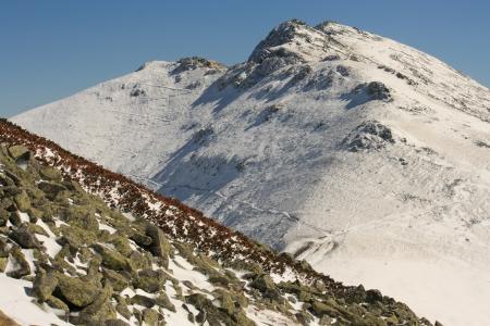 snow covered peaks in Low Tatras, Slovakia Stock Photo - 15932470