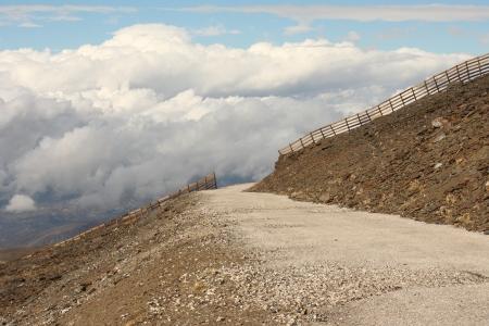 ski track in Pradollano in Sierra Nevada in summer Stock Photo - 16275764