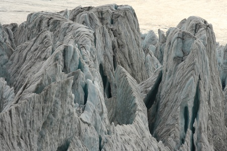 polluted glaciers