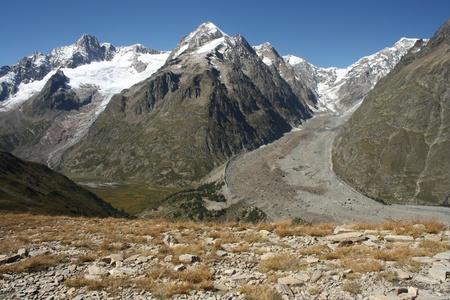 aosta: Miage Glacier, Italy