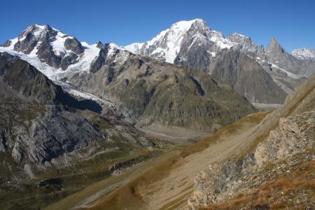 Val Veny in Graian Alps, Italy