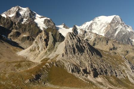 veny: alpine peaks above Val Veny, Italy