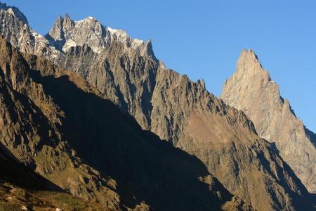 mountain ridges in Graian Alps Stock Photo - 17023281