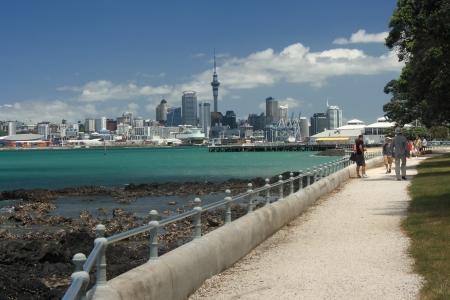Auckland CBD from Devonport