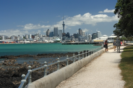 Auckland CBD from Devonport