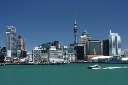 Auckland cityscape Stock Photo - 17023293