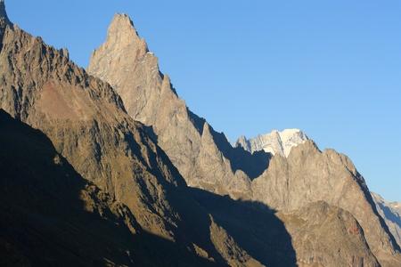 mountain ranges in Graian Alps, Italy Stock Photo - 17057020