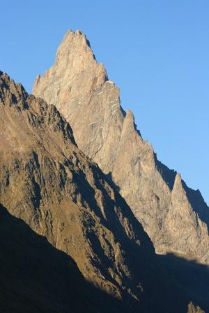 craggy: craggy peaks in Graian Alps, Italy