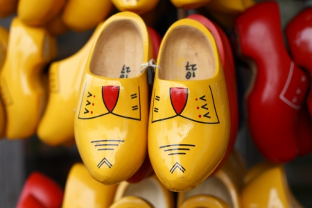 traditional clogs from Netherlands photo