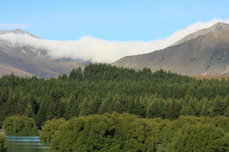 inversion at Mount Cook National Park