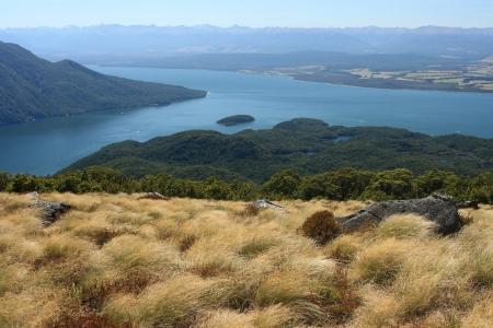 Te: Lake Te Anau, Fiordland National Park, New Zealand