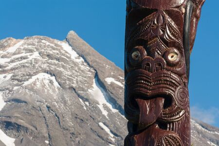 traditional Maori carving Stock Photo - 18615293
