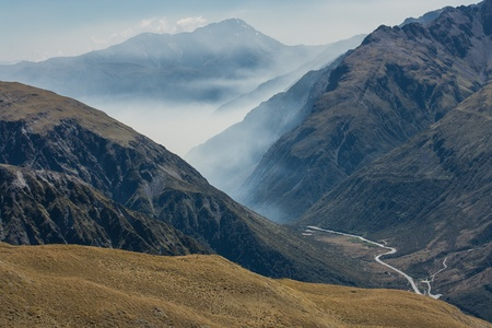 inversion: inversion in Arthur s Pass, New Zealand
