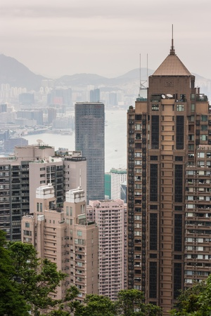 Hong Kong skyscrapers Stock Photo - 19128405