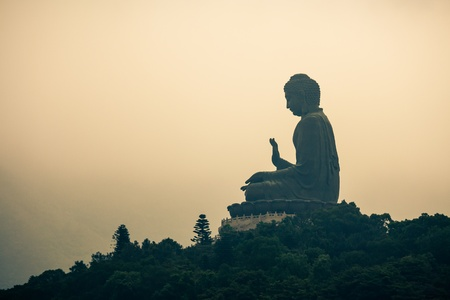 Tian Tan Buddha on Lantau Island, Hong Kong Stock Photo - 19173060