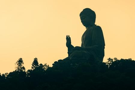 Tian Tan Buddha, Hong Kong Stock Photo - 19173057