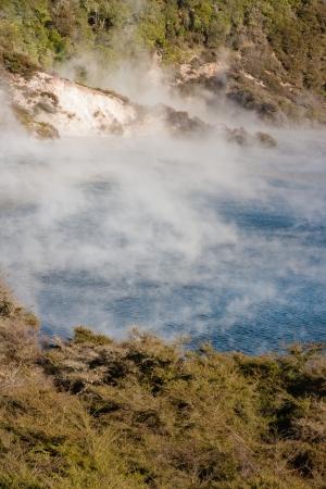 Frying Pan Lake in Rotorua Stock Photo - 20130368