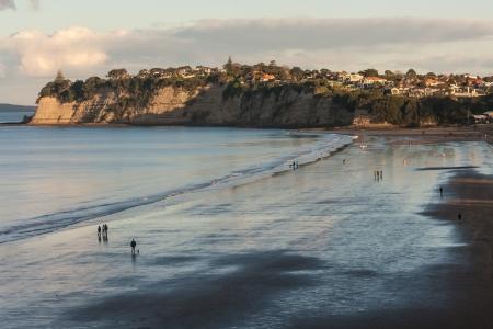 Long Bay at sunset