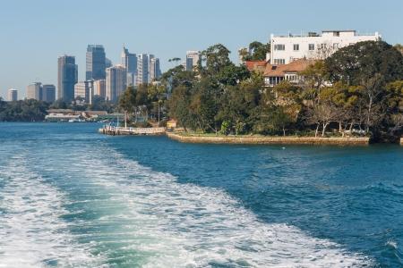 port jackson: central Sydney from Jackson Port