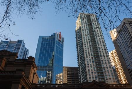 highrises: skyscrapers in Sydney CBD