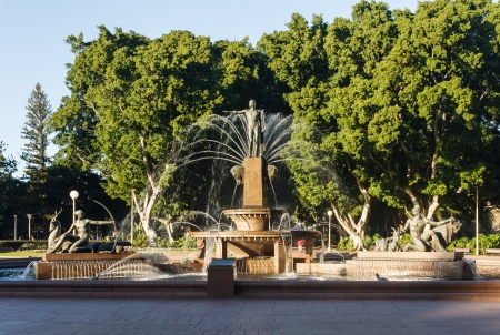 Archibald Fountain en Sydney Hyde Park photo