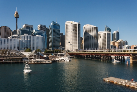Darling Harbour in Sydney Editorial
