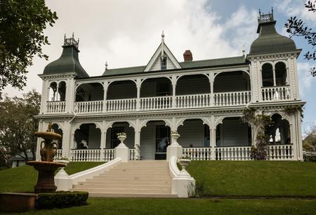 casa colonial: casa colonial en Auckland Editorial