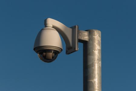 dome CCTV camera photo