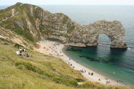 durdle door: Durdle Door arch in Dorset