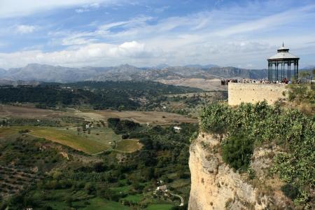mirador: view of Sierra Subbetica from Ronda mirador