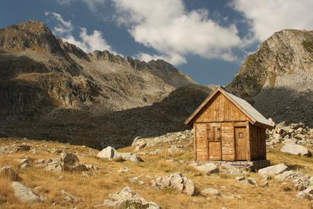 aran: mountain hut in Val d Aran